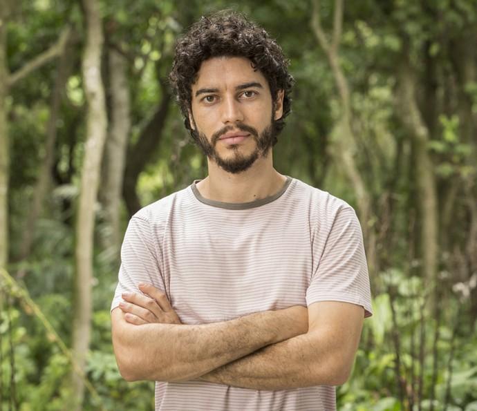 Lee Taylor fala sobre retorno de Martim, em 'Velho Chico' (Foto: Felipe Monteiro/ Gshow)