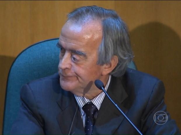 Cerveró (Foto: Rede Globo)