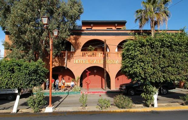 Hotel Califórnia, na Baixa Califórnia (Foto: Divulgação)