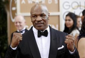 Mike Tyson no Globo de Ouro 2014 (Foto: Reuters)