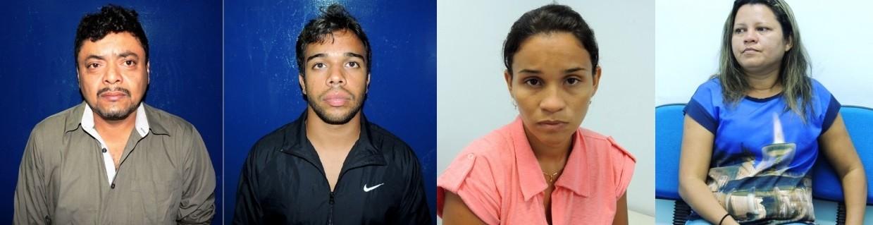 Veiculação de fotos foi autorizada para que outras vítimas possam identificá-los. (Foto: Divulgação/ Polícia Civil)