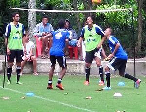 Marcelo Moreno treino Flamengo (Foto: Thiago Benevenutte)