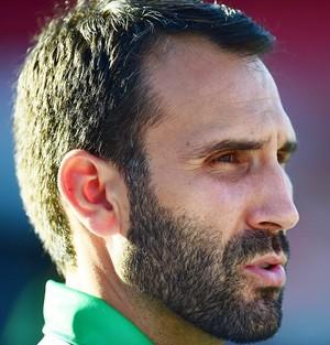 Sérgio Vieira Técnico América-MG (Foto: Marcos Ribolli)
