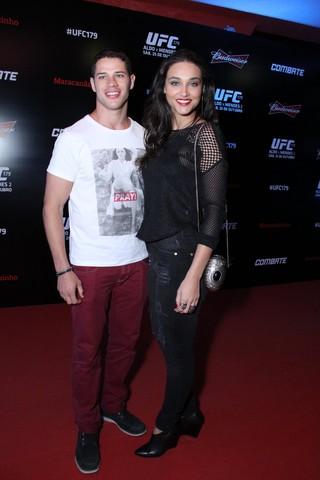 José Loreto e Débora Nascimento (Foto: Thyago Andrade/Foto Rio News)