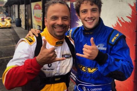 Marcos Breda e Rafael Cardoso (Foto: Arquivo pessoal)