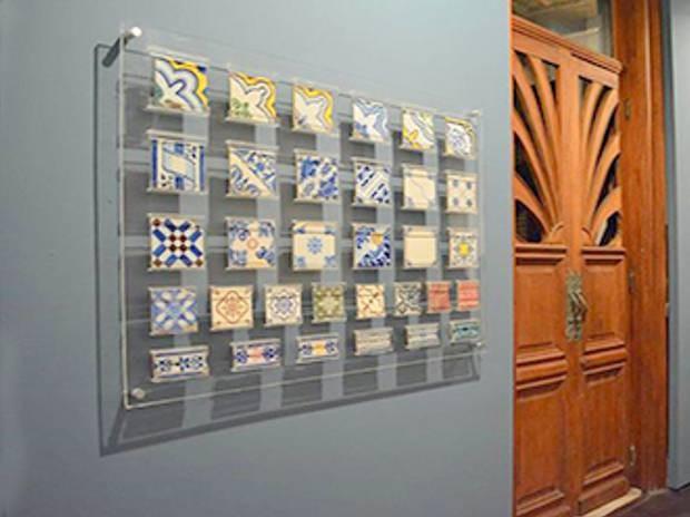 Azulejos históricos são tema de exposição para sensibilizar visitantes. (Foto: Divulgação/UFPA)