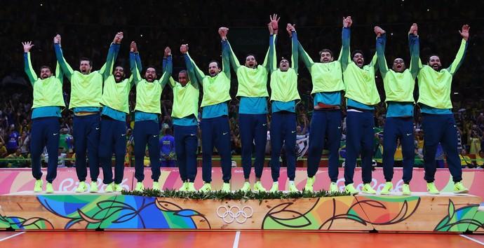 Final - Brasil x Itália - Rio 2016 (Foto: Getty Images)