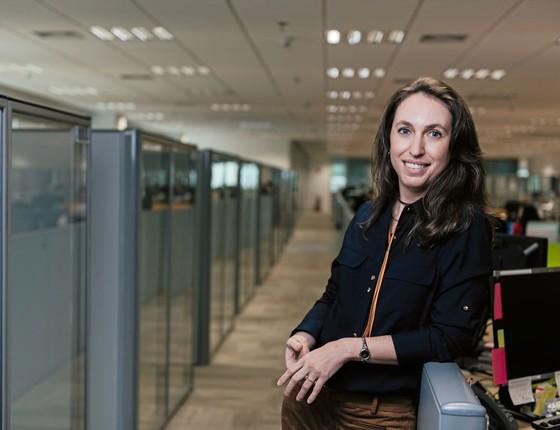 Jennifer  Wendling diretorra de RH da BRISTOL-MYERS SQUIBB (Foto:  Filipe Redondo/ÉPOCA)