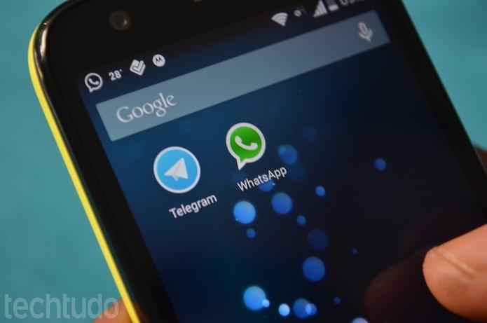 Telegram é um dos rivais do WhatsApp que mais cresce em número de usuários (Foto: TechTudo/Anna Kellen Bull)