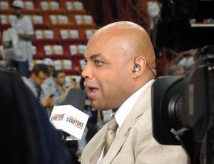 Charles Barkley Miami Heat x San Antonio Spurs NBA (Foto: David Abramvetz)