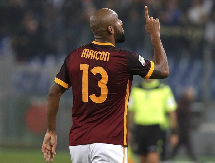 Maicon - Roma (Foto: Reuters)