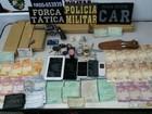 Família tenta evitar prisão de suspeito de tráfico e é detida por desacato