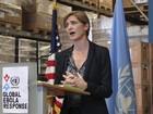 Luta contra o ebola cresce, mas está longe de vitória, diz enviada dos EUA