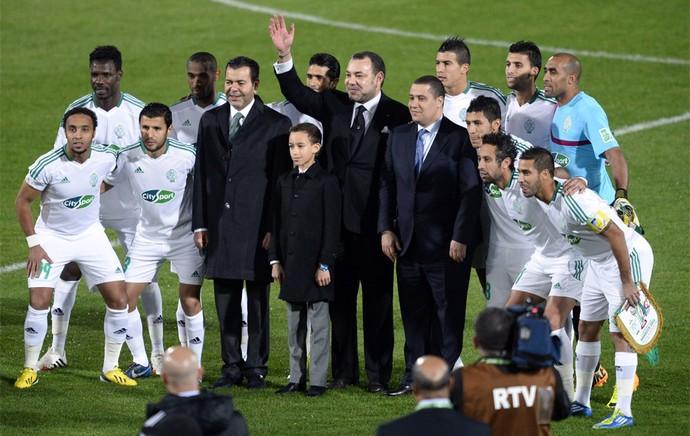 Mohammed VI rei marrocos bayern munique x raja casablanca (Foto: AFP)