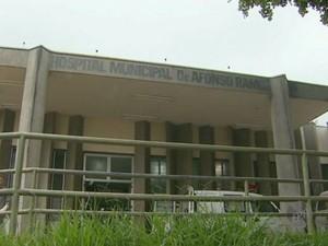 Idosa com AVC espera vaga em UTI há 8 dias em Santa Bárbara d'Oeste (Foto: Reprodução/EPTV)