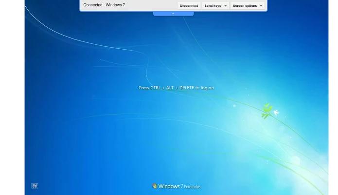 Chrome Remote Desktop por enquanto está disponível só na web (Foto: Divulgação/Google)