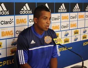 Júnior Ponce, reforço do Pelotas (Foto: Gabriel Ribeiro/Divulgação, Pelotas)