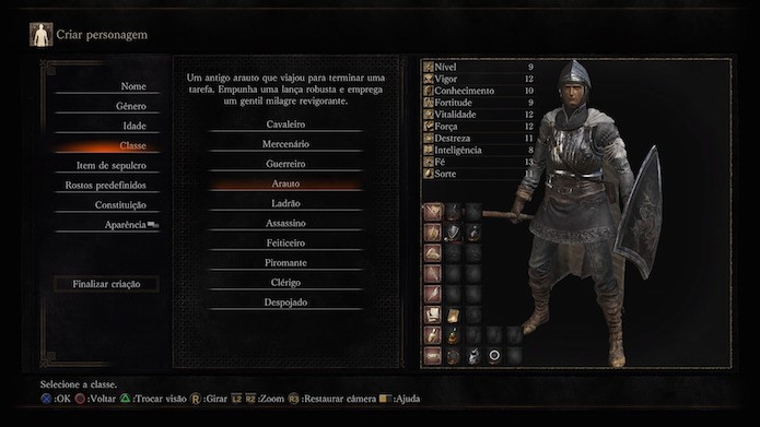 Dark Souls 3: arauto (Foto: Reprodução/Victor Teixeira)