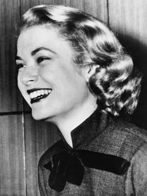 Atriz americana Grace Kelly em 1956 (Foto: AFP)