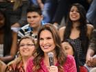 Laura Muller sobre pedido de namoro no 'Altas Horas': 'Faz parte'