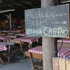 Acampamento reúne gastronomia (Luiza Carneiro/G1)