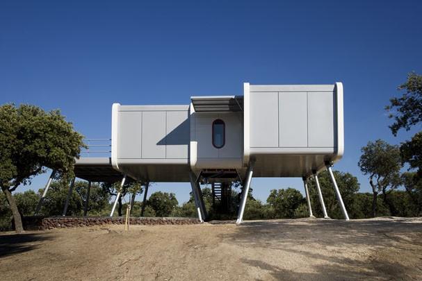 Star wars inspira casa futurista casa vogue casas for Casas futuristas