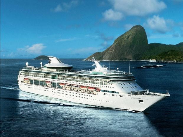 Navio Splendour of the Seas (Foto: Divulgação)