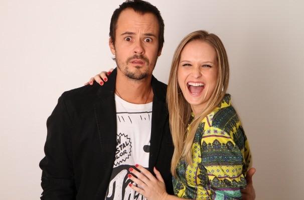 Fernanda Rodrigues e Paulo Vilhena interpretam Bianca e Thales na peça (Foto: Divulgação/Tô Grávida)