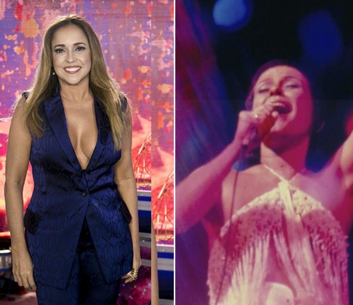 Daniela Mercury considera Elis Regina como referência musical (Foto: Isabella Pinheiro/ Gshow/ e CEDOC)