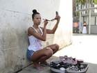 Ex-BBB Ariadna estrela campanha contra o preconceito e posa com modelos no Rio de Janeiro