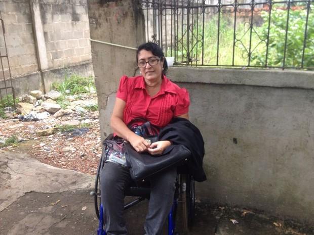 Rosana Dias, de 52 anos, é candidata no Exame da Ordem (Foto: John Pacheco/G1)