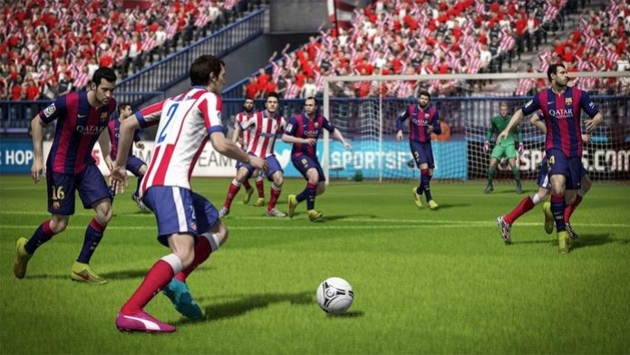 Fifa 15 no Xbox 360 e PS3 (Foto: Divulgação) (Foto: Fifa 15 no Xbox 360 e PS3 (Foto: Divulgação))