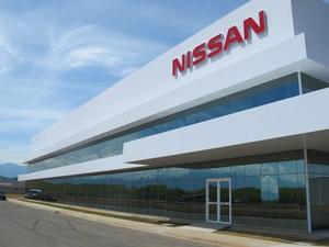 Complexo industrial da Nissan em Resende, no Rio de Janeiro, também terá planta de motores (Foto: Rafael Miotto / G1)