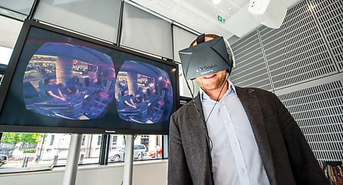 BBC já testa programas de TV feitos para um Oculus Rift (Foto: Divulgação/BBC)