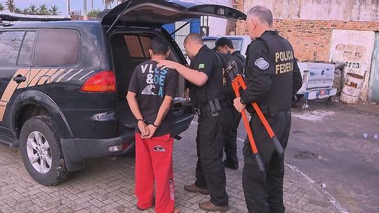 Preso no MS chefia grupo de detentos que organiza tráfico na PB, diz PF