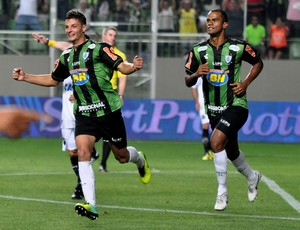 Andrei Girotto América-MG gol ABC (Foto: Assessoria AFC)