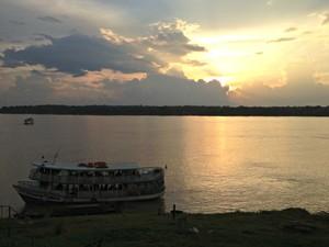 Sol deve aparecer entre nuvens nesta terça-feira em Rondônia (Foto: Ivanete Damasceno/G1)