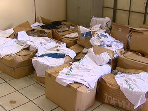 Prefeitura de São Carlos afirma que não sabia de material estocado (Foto: Reginaldo dos Santos / EPTV)