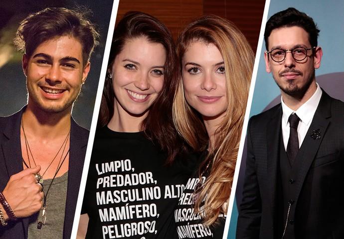 Saiba tudo que rolou com Rafael Vitti, Nathália Dill, Alinne Moraes e João Vicente nos bastidores de Rock Story (Foto: Gshow)