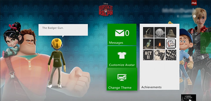 Mude o tema do seu Xbox 360 (Foto: Reprodução/YouTube)