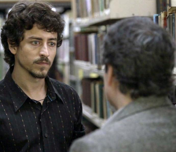 Vicente descobre verdade (Foto: TV Globo)