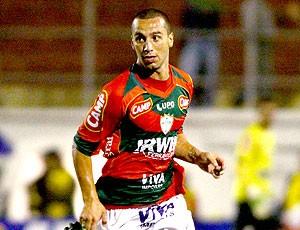 Guilherme na partida da Portuguesa (Foto: Futura Press)