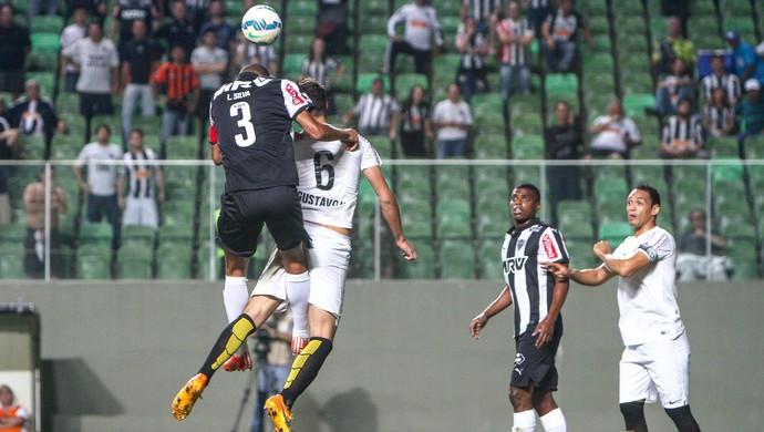 Independência Atlético-MG Santos (Foto: Bruno Cantini/CAM)