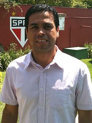 Reginaldo Araujo São Paulo (Foto: Marcelo Prado / Globoesporte.com)