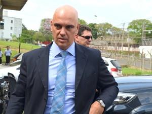 Alexandre de Moraes, secretário de Segurança Pública de São Paulo (Foto: Claudia Assencio/G1)