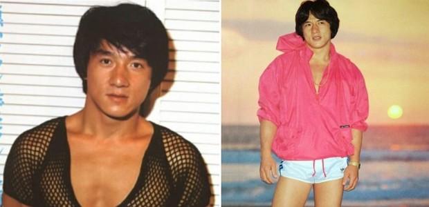 Jackie Chan na juventude: pura ousadia (Foto: reprodução)