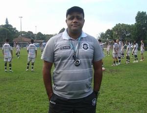 Kall, técnico do sub-20 do Rio Branco-ES e auxiliar do profissional (Foto: Divulgação/Rio Branco AC)