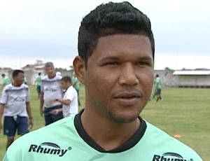 Ronaldo Capixaba, atacante do Estrela do Norte (Foto: Reprodução/TV Gazeta Sul)