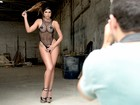 Mari Gonzalez emagrece dois quilos para posar para o Paparazzo