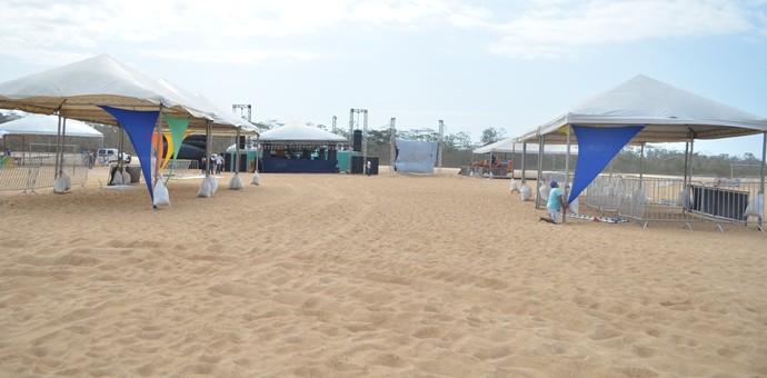 Tudo pronto para a etapa final dos Jogos de Verão 2016 em Roraima (Foto: Ivonisio Júnior)